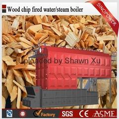 Best Selling 6-35 TPH Wood Biomass Fired Steam Boiler