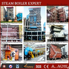 Best Selling 35-440 TPH CFB Type Wood Biomass Fired Large Capacity Steam Boil