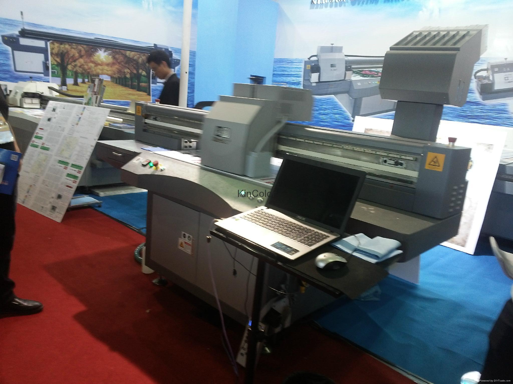 UV 数码平板打印机 1