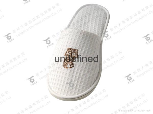 专业生产星级酒店外贸拖鞋 2