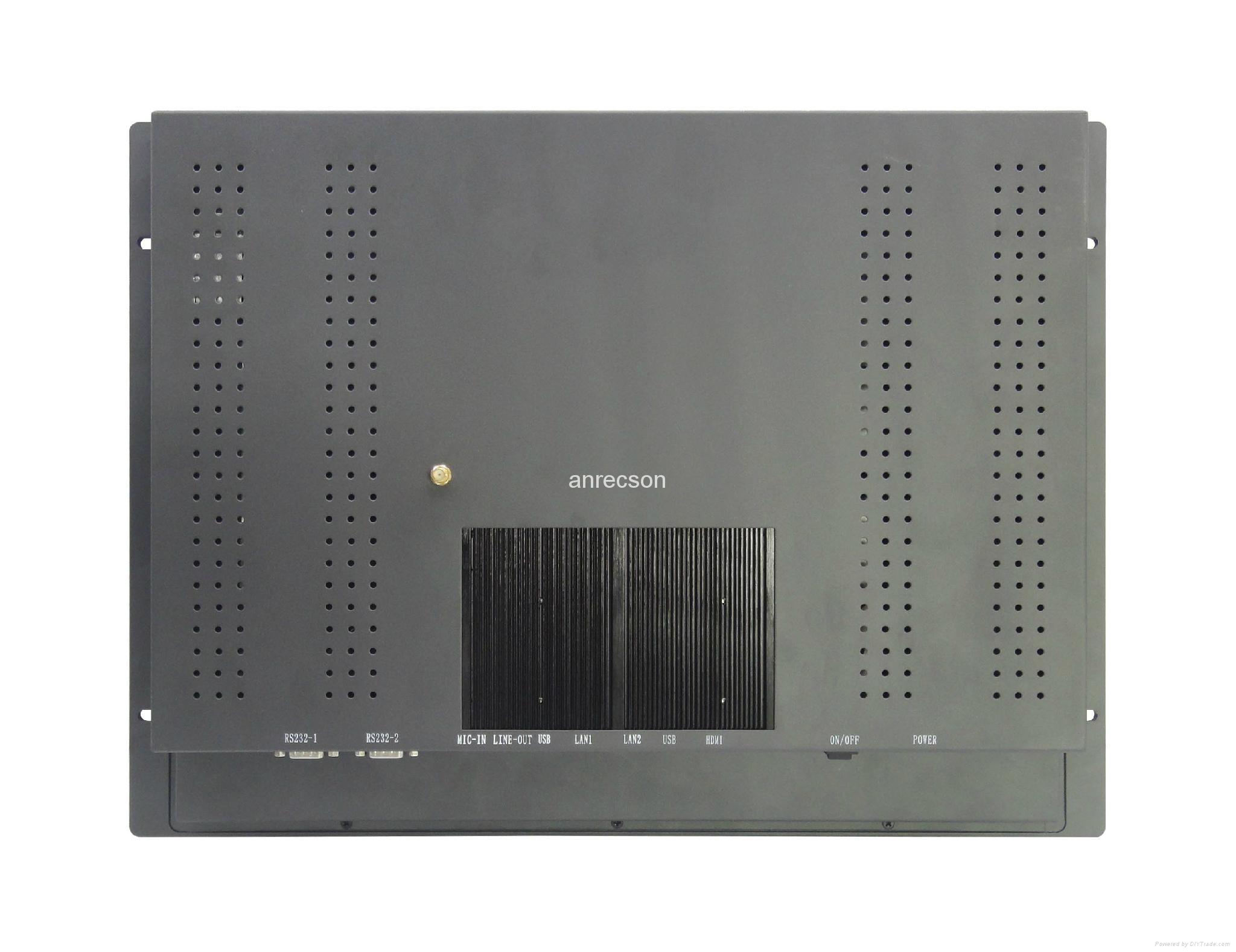 19 inch industrial touch panel PC all in one 5