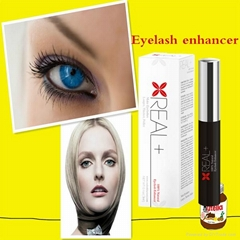 Private label cosmetics Real Plus eyelash enhancer and growth instantly serum