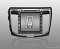 Honda Accord 9 DVD GPS Navigation in