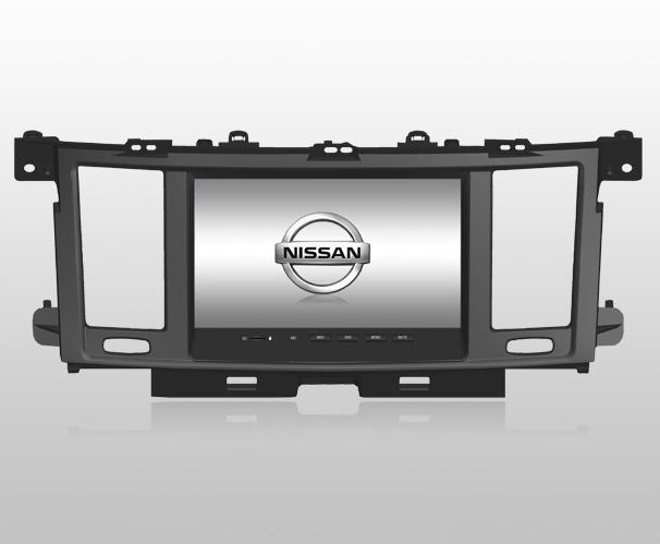 Nissan Tourle DVD GPS Navigation in wholesale and retail 1
