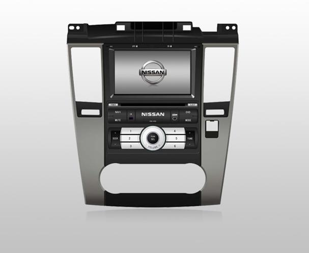 Nissan Tiida DVD GPS Navigation in wholesale and retail 1