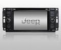 Jeep Copass, Commander, Wrangler DVD GPS