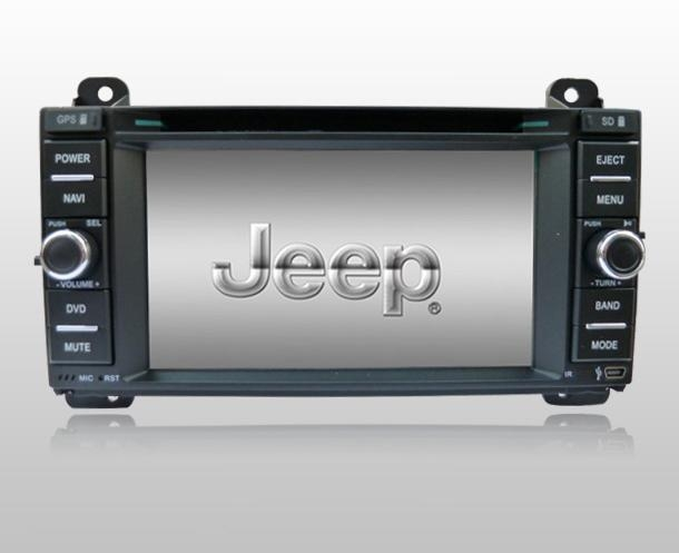 Jeep Grand Cherokee DVD GPS Navigation in wholesale and retail 1