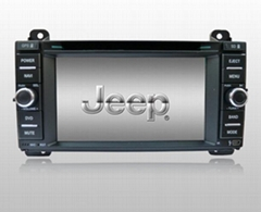 Jeep Grand Cherokee DVD GPS Navigation in wholesale and retail