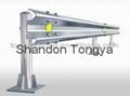 Armco steel galvanized guardrail