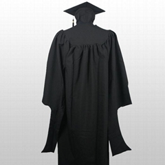 Matte High School Graduation Cap Gown