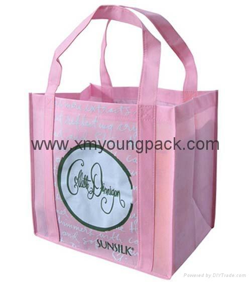 Promotional custom printed foldable non woven polypropylene eco bag 3