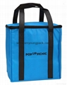 Custom eco-friendly large non woven fabric insulated cooler bag