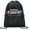 Promotional custom nylon drawstring cinch backpack bag 3