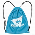 Promotional custom nylon drawstring cinch backpack bag