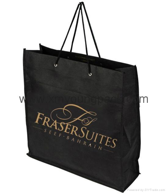 Promotional custom printed foldable non woven polypropylene eco bag 6