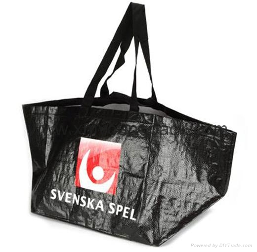 Promotional custom printed foldable non woven polypropylene eco bag 7
