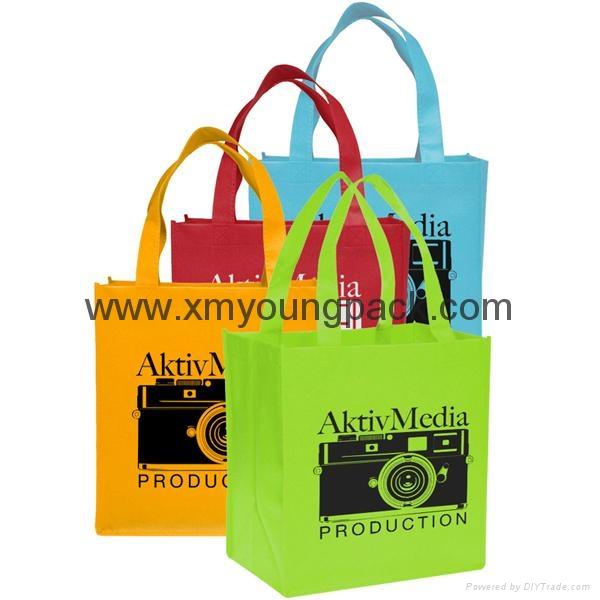 Promotional custom printed foldable non woven polypropylene eco bag 9