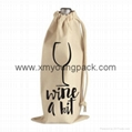 Promotional calico bag custom printed reusable 100% natural cotton canvas bag