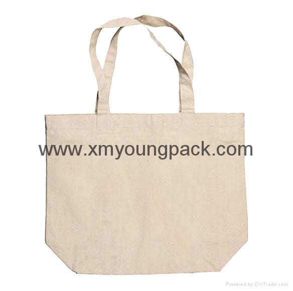 Promotional custom eco friendly reusable cotton shopping bag 2