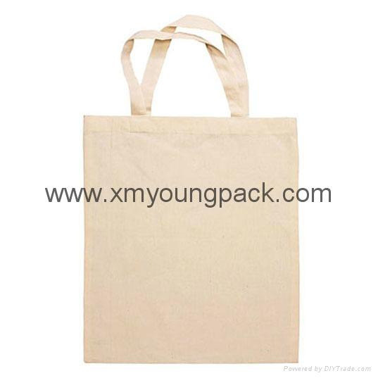 Promotional custom eco friendly reusable cotton shopping bag 4
