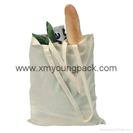 Promotional custom eco friendly reusable cotton shopping bag 1