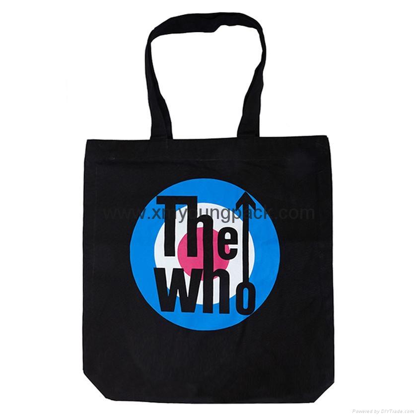 Promotional custom eco friendly reusable cotton shopping bag 7