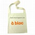 Promotional custom eco friendly reusable cotton shopping bag 8