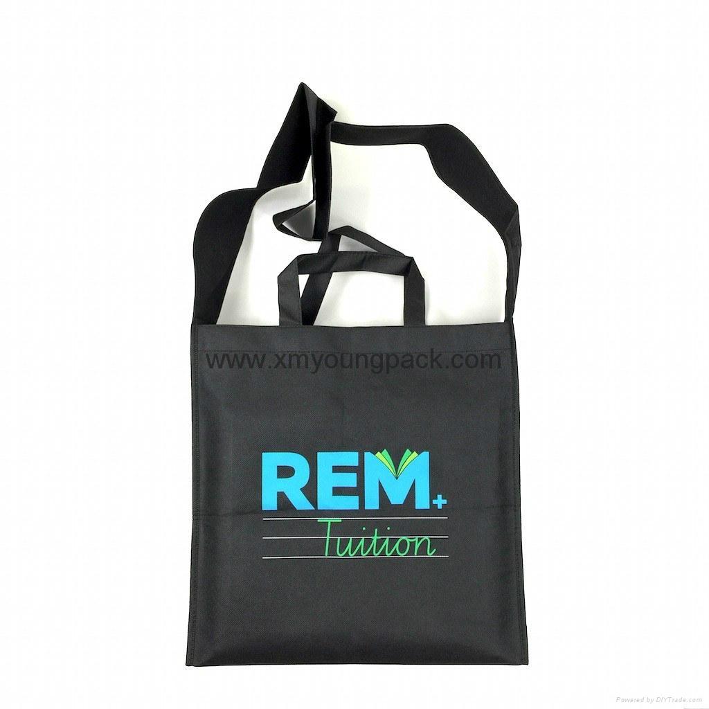 Promotional custom printed foldable non woven polypropylene eco bag 10