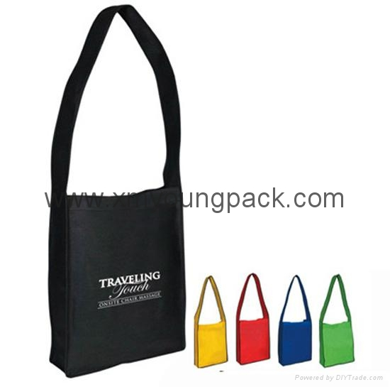 Custom printed eco friendly reusable cheap tnt shopper tote bag 5