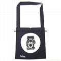Promotional custom non woven polypropylene flap satchel bag