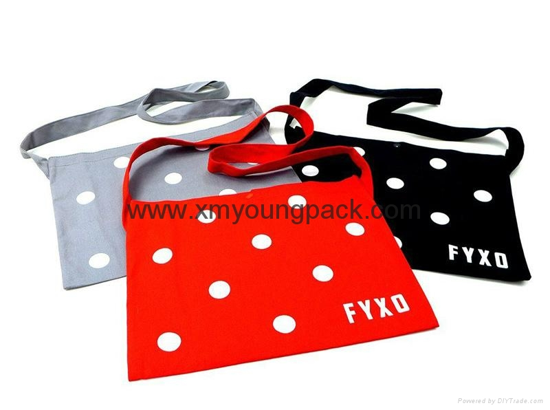 Promotional custom non woven polypropylene flap satchel bag 6