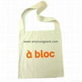 Promotional custom non woven polypropylene flap satchel bag 8