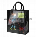 Custom full colour printed pp non woven laminated bag