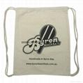 Promotional custom nylon drawstring cinch backpack bag 7