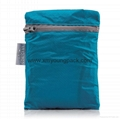 Custom small blue waterproof lightweight ripstop nylon bag
