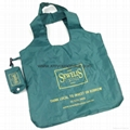 Wholesale cheap reusable nylon folding strawberry shopping bags 8