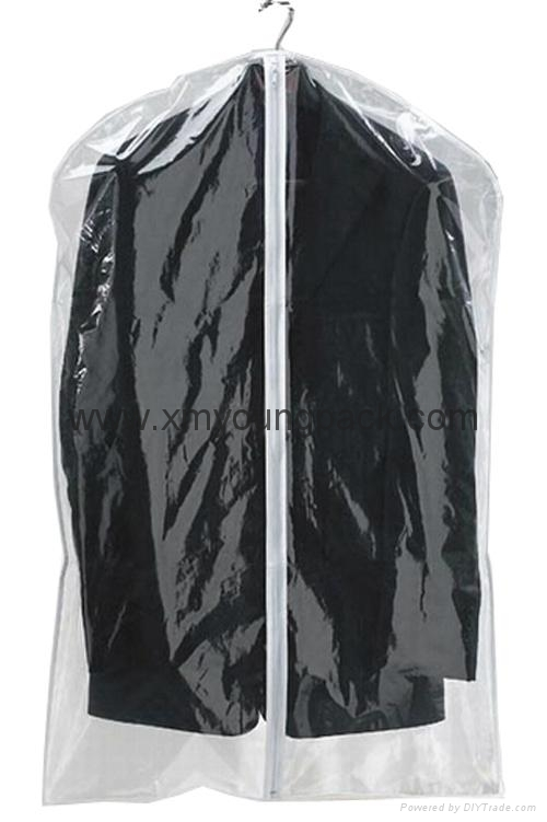 Personalized custom printed black non woven suit cover garment bag 10