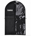 Fashion deluxe custom printed black garment bag suit carrier 11