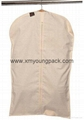 Personalized custom printed white non woven suit cover bag 10