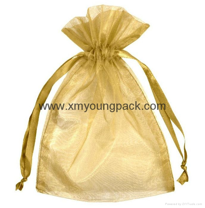 Promotional custom small white satin drawstring jewelry pouch 9