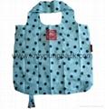 Promotion custom printed reusable nylon foldable shopper bag