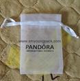Custom small organza jewelry pouch organza gift bag 4