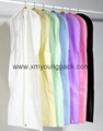 Custom printed white bridal gown dress bag non woven wedding dress cover 10