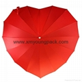 Promotional gifts custom printed black polyester wine bottle umbrella 10