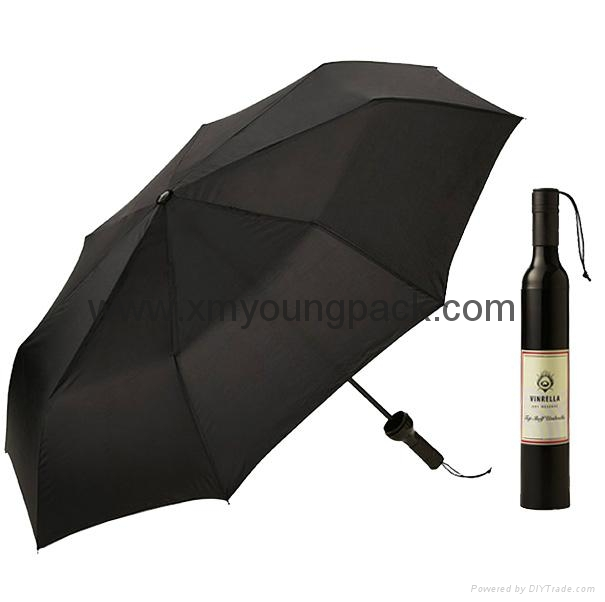 Wholesale promotional custom printed auto open close metallic gold UV umbrella 4