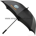 Promotional gifts custom printed black polyester wine bottle umbrella 12
