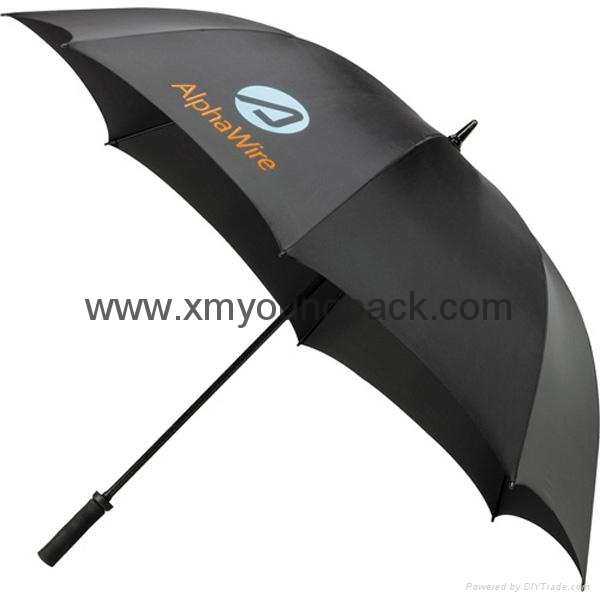Wholesale promotional custom printed auto open close metallic gold UV umbrella 11