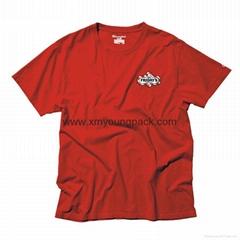 Advertising promotional custom champion coloured classic women's tee shirt