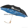 "Promotional custom printed 42"" auto open and close fold advertisement umbrella 10"