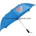 "Advertising promotional custom printed nylon 60"" straight golf umbrella 10"
